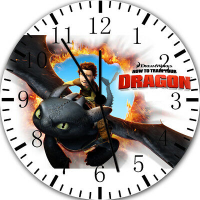 How to Train Your Dragon Frameless Borderless Wall Clock For Gifts or Decor E64