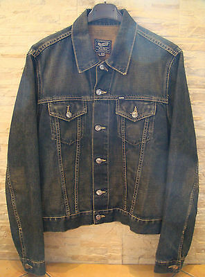 Vintage Giubbotto Giacca jeans GAS uomo L - Denim Jacket jeans GAS man large