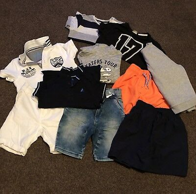 Boys Clothes Bundle Age 5 6 Years Next F&f Many More