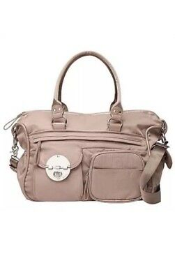Brand New Mimco Lucid Nappy Bag. Taupe. BNWOT - No Change Mat Or Shoulder Strap