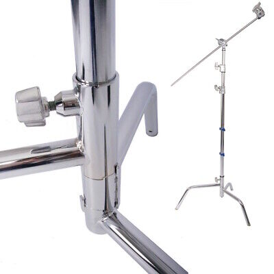 10ft Turtle Base C-Stand Grip Arm Head Adjustable Light Stand Heavy Duty Photo