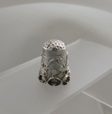 Vintage Mexican Silver Thimble