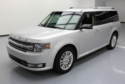 2015 Ford Flex  2015 FORD FLEX SEL 7-PASS HTD LEATHER NAV REAR CAM 39K #A09916 Texas Direct Auto