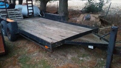 Skid Loader Trailer