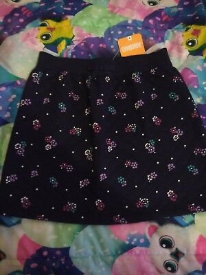 Gymboree Flower Quilted Style Skirt Girls Size 10