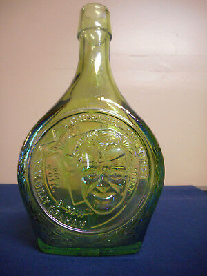 Wheaton Glass Commemorative Bottle Decanter Rev Billy Graham Crusades for Christ