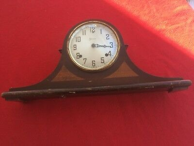 Vintage Sessions Mantle Clock USA  8Days,2tone chime ,1/2 hours in harmony
