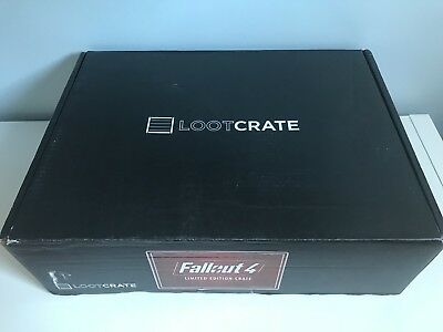 Fallout 4 Limited Edition Loot Crate Box Lootcrate Exclusive Collectors Edition