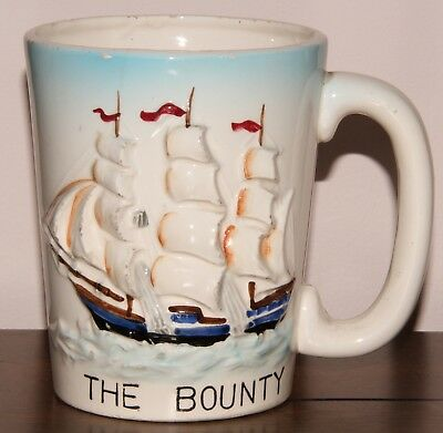 The Bounty Souvenir Mug MGM Movie 1962 Marlon Brando Trevor Howard