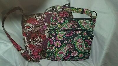 lot of 2 vera bradley shoulder bags