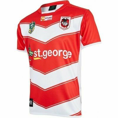 St George ILL Dragons NRL 2018 X Blades Alternate Jersey Adult & Kids Sizes!