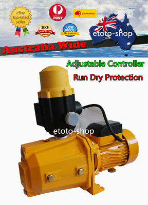 Automatic High Adjustable Pressure Rain Water Tank Pump Household Garden