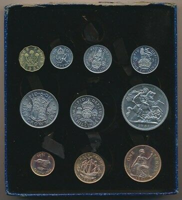 Great Britain: 1951 British Festival ¼d to 5/- Proof Set (10), Scarce