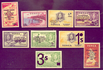 TONGA: COLLECTION of OLD  STAMPS in MINT CONDITION     NO   RESERVE