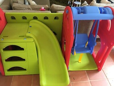 Kids Outdoor Play Equipment (slide and swing)