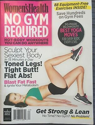 Women's Health Magazine USA - No gym required 2016