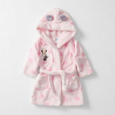 NEW Disney Baby Minnie Mouse Dressing Gown