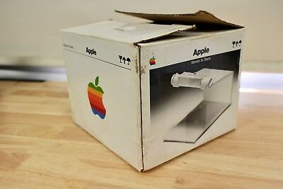 BOXED Apple IIc MONITOR STAND - vintage retro VGC A2M4027