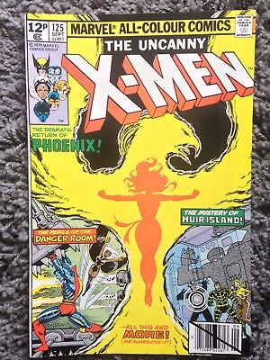 X-Men #125 Marvel Bronze Age Comic VF/NM 9.0