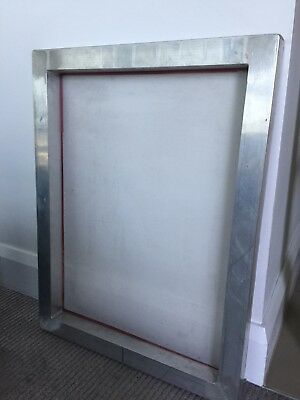 Screen Printing Aluminium Frame Stretched & White Print Mesh MELB Pickup