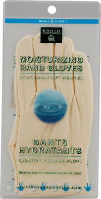 Moisturizing Hand Gloves, Earth Therapeutics, 1 Pair White