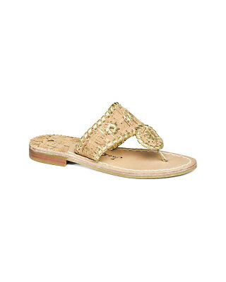 Jack Rogers Girls' Miss Napa Valley Leather Sandal