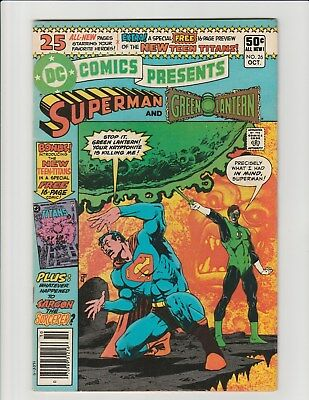 DC Comics Presents #26 (DC 1980) 1st Raven Cyborg Starfire Teen Titans Tower VF