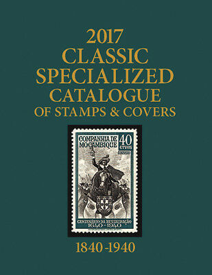 Scott 2017 Classic Specialized Catalogue of World Stamps and Covers 1840-1940