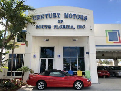 1998 Chevrolet Camaro Base Convertible 2-Door Red Convertible Leather Low Miles Clean CarFax