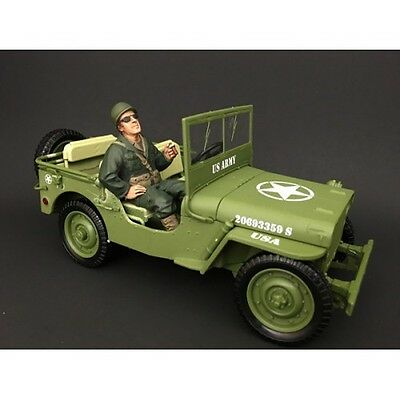 1/18 Scale figure- WWII US Army Soldier III- AD-77412 - AMERICAN DIORAMA