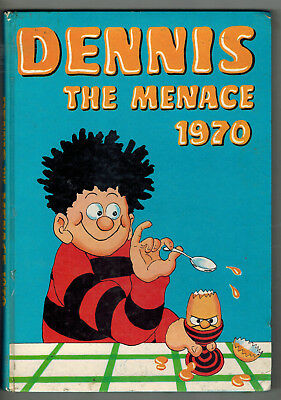 DENNIS THE MENACE ANNUAL 1970 from Beano Comic -