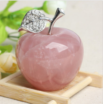 110g Natural rose pink quartz crystal Peace fruit Decoration Crystal Gift