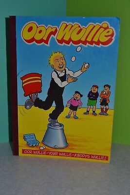 Oor Wullie - 2 x Paperback Comic Books 1990 and 1992