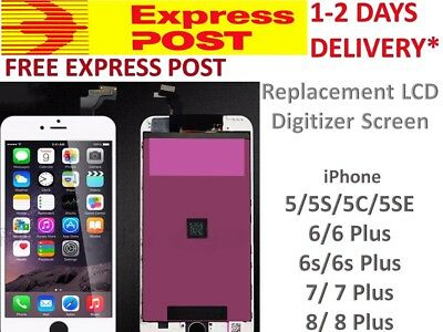 iPhone 5 5S 6 6S 7 PLUS LCD Screen Full Replacement Display Digitizer Assembly