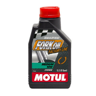 1 Liter Motul Gabelöl 10W Synthetisch FORK OIL Factory Line Medium 105925
