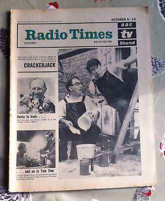 RADIO TIMES 1966  DOCTOR WHO feature THE TENTH PLANET Hartnell Cybermen