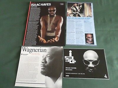 Issac Hayes -  Pop Music - Clippings /cuttings Pack