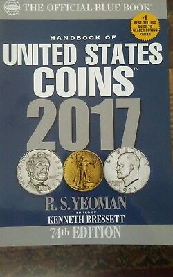 Handbook of United States Coins 2017: The Official Blue Book, Paperbook Edition