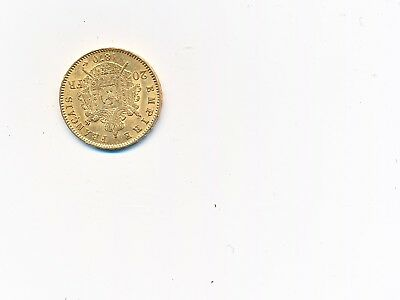 FRANCE NAPOLEON III 1852-1870 20 FRANCS 1870 BB OR GOLD ORO  Tête Laurée SPL
