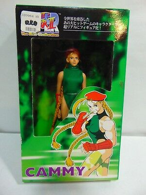 """CAPCOM STREET FIGHTER II COLLECTION CAMMY 6.5"""" New Challengers! IN BOX!"""