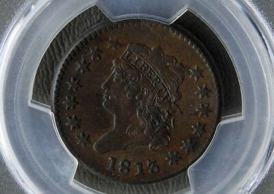 1813 Large Cent PCGS XF45