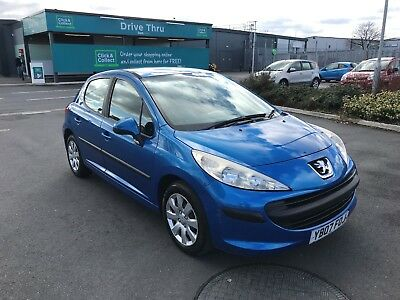 Peugeot 207 1.4 Hdi S 110K Mot Till Sept 2018 5 Door £30 Road Tax 52Mpg 5 Door