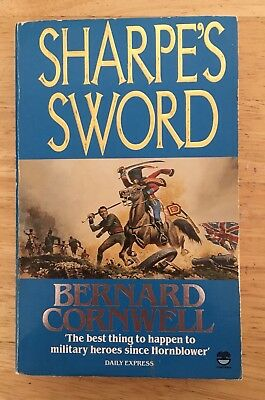 Sharpe's Sword by Bernard Cornwell. Paperback. Good condition 1987 book.