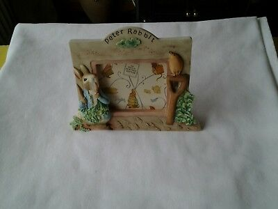 Beatrix Potter Resin Photo Frame.