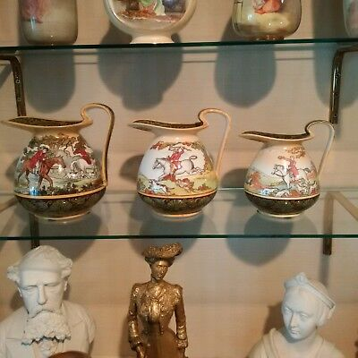 Royal Doulton Hunting Pitchers (THREE) by George Morland
