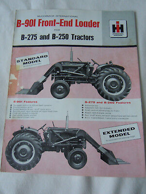 @Vintage McCormick International B-901 Front End Loader Brochure@