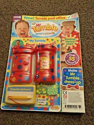 cbeebies mr tumble something special magazine issue 81 mr tumble post office set