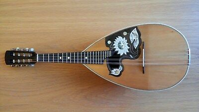 c.1930s Ornate German Bowl Back Concert Soloist Mandolin. Great Condition.