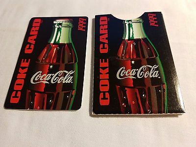 Five Coca-Cola Discount Card in Holder Hawaii Coke Promotion New Mint