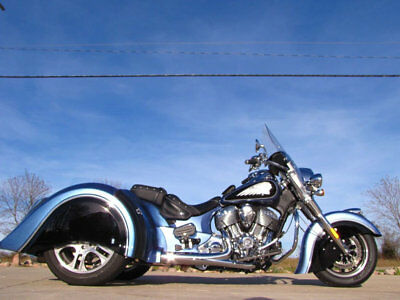 2016 Indian CHIEF VINTAGE STAR CSC TRIKE CONVERSION CHIEF VINTAGE TRIKE 2016 INDIAN CHIEF VINTAGE STAR CSC TRIKE CONVERSION 111CI CUSTOM BLUE PEARL